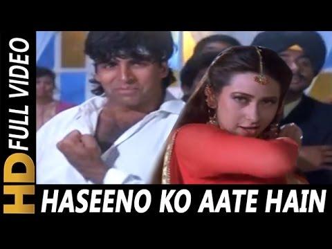 Haseeno Ko Aate Hain Kya Kya Bahane | Udit Narayan, Alka Yagnik | Lahoo Ke Do Rang Songs | Akshay