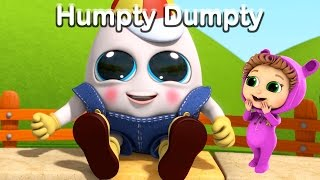 Humpty Dumpty | Nursery Rhymes| Kids Songs