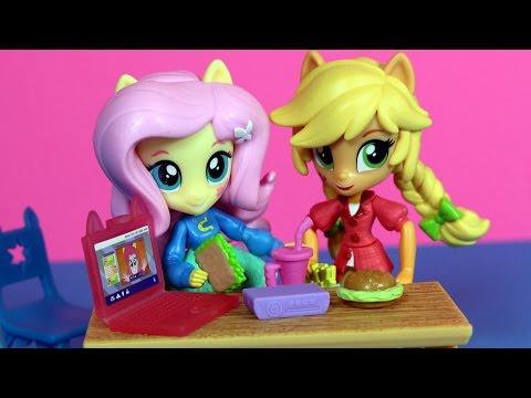 Złe nawyki Applejack - Equestria Girls Mini - My Little Pony - bajka po polsku