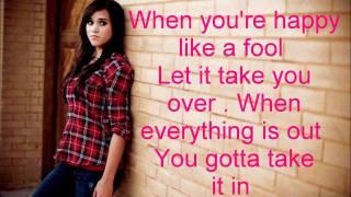 Good Life- OneRepublic (cover) Megan Nicole and Alex Goot (lyrics)