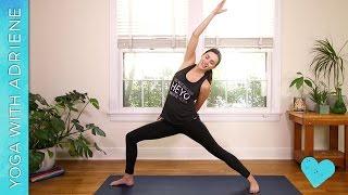 Compassion Yoga - Core Strength Vinyasa - Yoga With Adriene