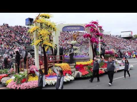 2017 Tournament of Roses Parade Off Camera Footage