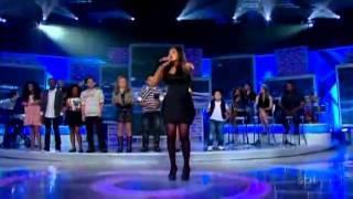 Brenda dos Santos   Alvo do Teu Milagre   Final Jovens Talentos Kids   Programa Raul Gil   12/11/11