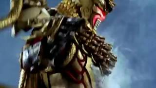 Power Rangers Jungle Fury - Lion and Chameleon Zords (Rin Stampede Formation)