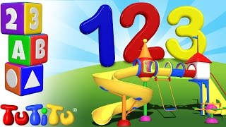 TuTiTu Preschool | 123 Playground | Learning Numbers | Learn to Count to 10