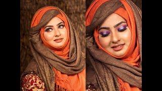 Valentine Day Glam Makeup Tutorial 2018   Mim Sabrin