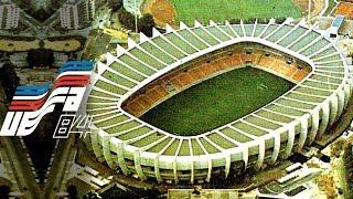 UEFA Euro 1984 France Stadiums