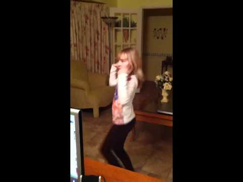 10 yr old dancing to (you sexy thing)