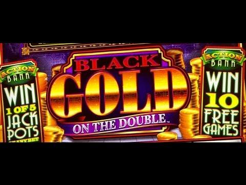 ACTION BANK DOUBLE GOLD SLOT MACHINE BONUS-at WYNN