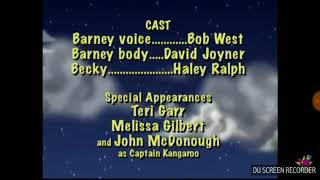 Barney's First Adventures Credits