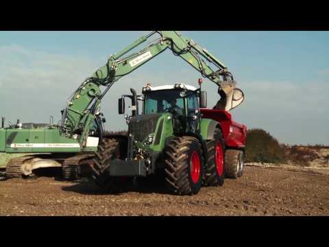 Fendt Traktoren im ISU Einsatz