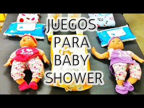 10 Juegos para Baby Shower Muy Divertidos HD