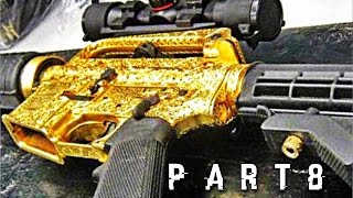 Caduceus High-End Gold Assault Rifle in The Division - Walkthrough Gameplay Part 8
