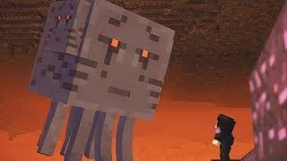 Minecraft Story Mode Season 2 Episode 3 Super Ghast Boss Fight