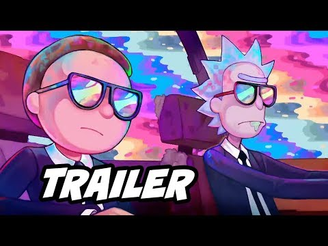 Xxx Mp4 Rick And Morty Run The Jewels Music Video Trailer Oh Mama Easter Eggs 3gp Sex