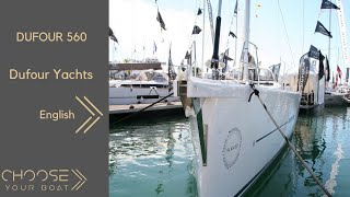 DUFOUR 560 Grand Large Guided Tour Video (English)