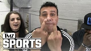 Alberto Del Rio & Paige: Vince McMahon Would Be Better Prez Than Trump | TMZ Sports
