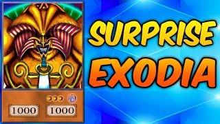 "SURPRISE EXODIA! - Yugioh Trolling with ""BEST EXODIA DECK!"""