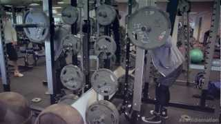 Swoldier Nation - Trainer Edition - Leg day Part 1- Warmup,Stretching,Squats