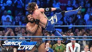 Jinder Mahal vs. AJ Styles - WWE Championship Match: SmackDown LIVE, Nov. 7, 2017