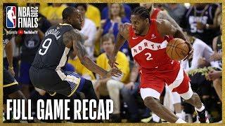 RAPTORS vs WARRIORS | Kawhi Leonard Drops 36 Points in Oracle | NBA Finals Game 4