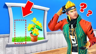 Going INVISIBLE in Fortnite Prop Hunt! (God Spot)
