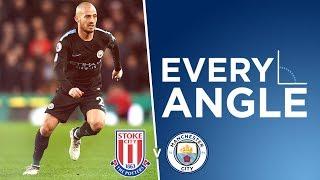 MAGIC MERLIN! | Every Angle | David Silva vs Stoke