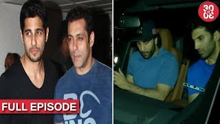 Salman Gets Sidharth On Board For 'Race 3' | Ranbir-Aditya Meet Up For A Dinner