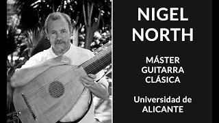 Nigel North. Master Guitarra Alicante 2013