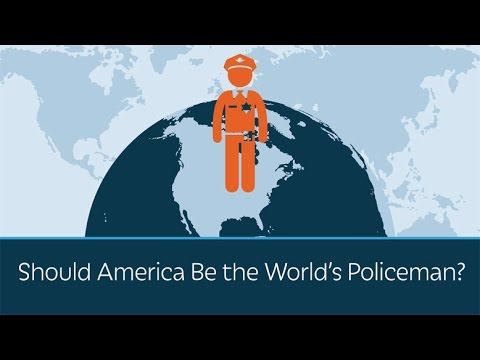 watch Should America be the World's Policeman?