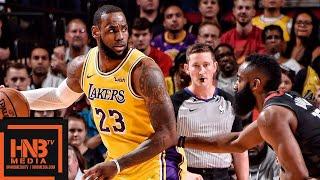 Los Angeles Lakers vs Houston Rockets Full Game Highlights | 12.13.2018, NBA Season