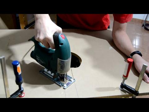 Mesa casera para fresadora Homemade router table