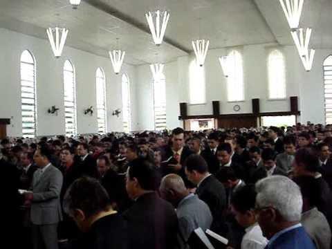 CCB HINOS Reunião da mocidade em Umuarama hino 221 Igual ao Mestre