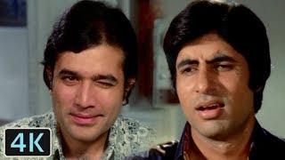 Diye Jalte Hain | Full 4K Video Song | Rajesh Khanna, Amitabh Bachchan - Namak Haraam