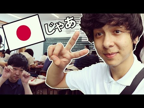 My Day in a Japanese School