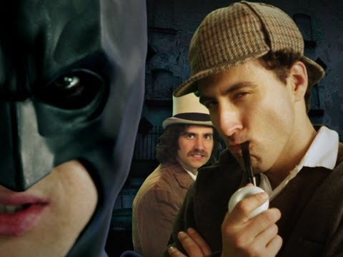 Batman vs Sherlock Holmes. Epic Rap Battles of History Season 2.