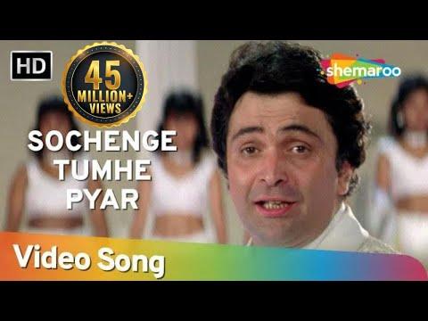 Xxx Mp4 Sochenge Tumhe Pyaar Kare Ke Nahi HD Deewana Song Rishi Kapoor Divya Bharti Filmigaane 3gp Sex