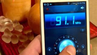 Samsung Galaxy S3 FM Radio - On International Vodafone