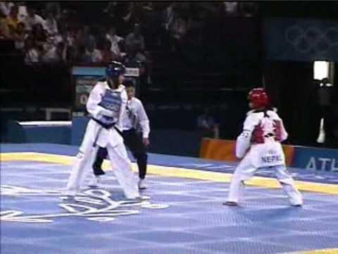 陳詩欣vs尼泊爾:2004年雅典奧運跆拳道比� 實況
