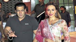 Salman Khan Girlfriend Iulia Vantur At Arpita Khan Eid Party 2018
