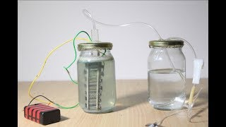 How to make a mini Hydrogen Generator | Full Tutorial | Science Experiment