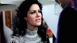 ضرب فاروق لميرفت ووقوعها على الدرج  مسلسل بنات العيلة  الحلقة 14
