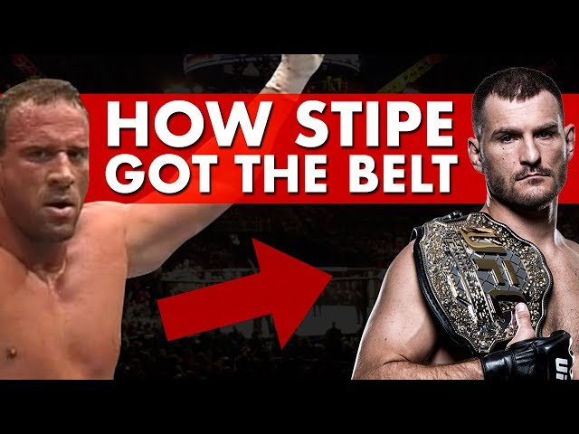 The Lineal Heavyweight Belt's Insane Journey to Stipe Miocic