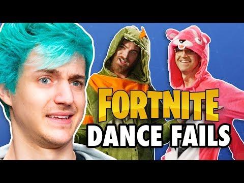 Fortnite Dance Challenge ft. Ninja