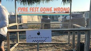 Fyre Festival COMPLETE Disaster. VLOG of Chaos!