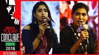 Deepa Easwar Vs Rehana Fathima On Sabarimala Issue At India Today #ConclaveSouth18