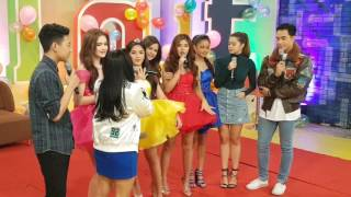 BFF5 Andrea, Maris, Ylona, Kira and Loisa on ASAP Chill Out #ASAPSariSariSurprise
