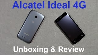 Alcatel Ideal 4G Unboxing & Review | $10 Smartphone!
