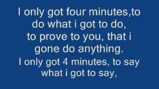 4 Minutes Lyrics