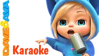 Humpty Dumpty - Karaoke! | Nursery Rhymes Collection from Dave and Ava Baby Songs